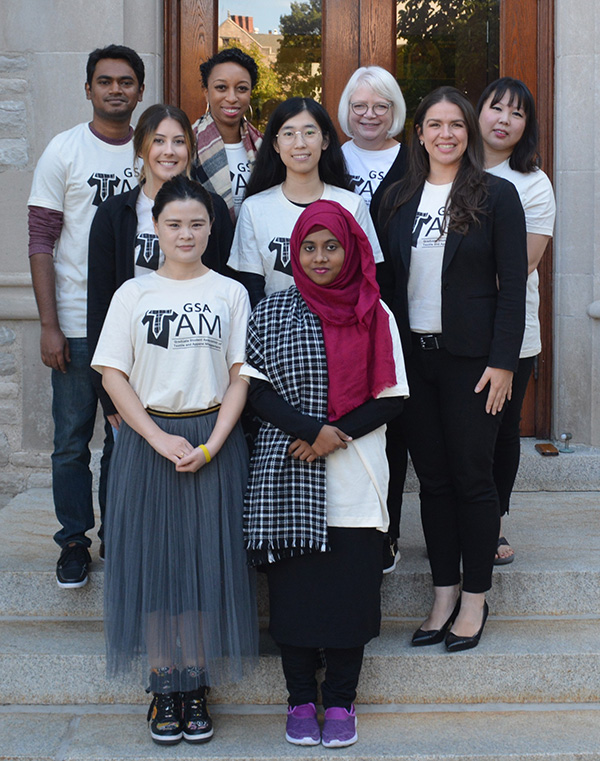 Current TAM Graduate Students, 2019-2020